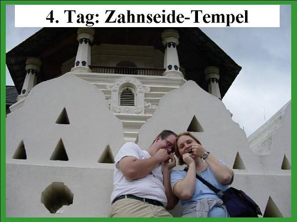 4. Tag: Zahnseide-Tempel