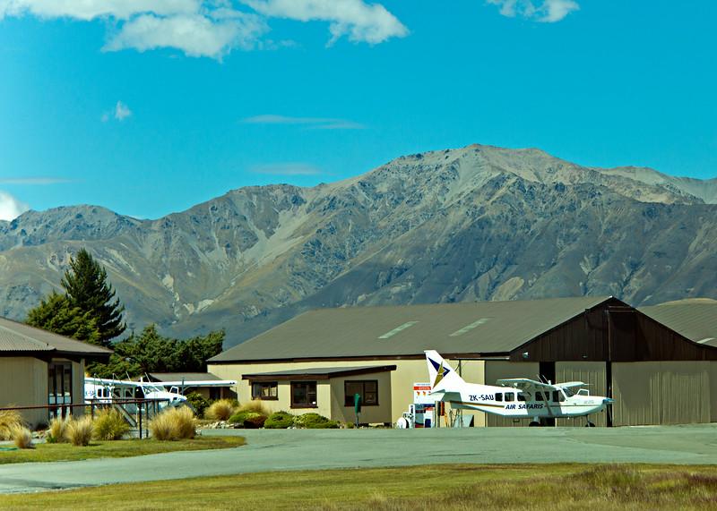 We took a flight over Mt. Cook National Park
