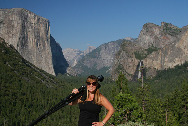 Tunnel View in mid summer. Yosemite NP. 8/4/11