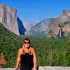 Posing at Tunnel View, Yosemite NP. 8/4/11