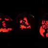 Our pumpkins.  Fight on!