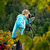 Photographing at Blackwater Falls State Park, WV. Sept 2010<br /> (photo taken by Kelly Heaton)