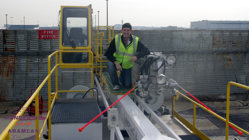 Me and my deicing truck