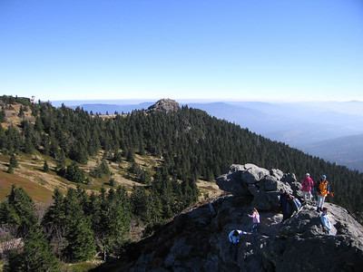 Arber hoogste top in Beierse Woud