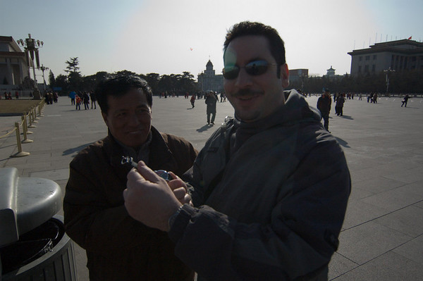Beijing 08 with Ernie