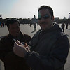 Buying Mao watches in Tiananmen Square... sucker