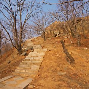 steps outside GW