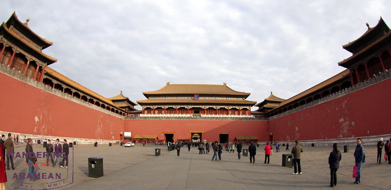 Headed in to the Forbidden City