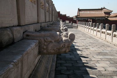 The Chinese version of gargoyles