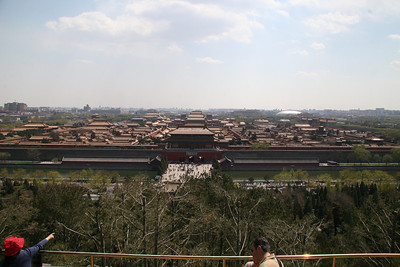 The full Forbidden City, giving some indication as to the size of the complex.
