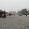 The 'park' between the Tiananmen Gate and the Meridian Gate.