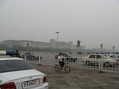 Tiananmen Square - Stage Left.