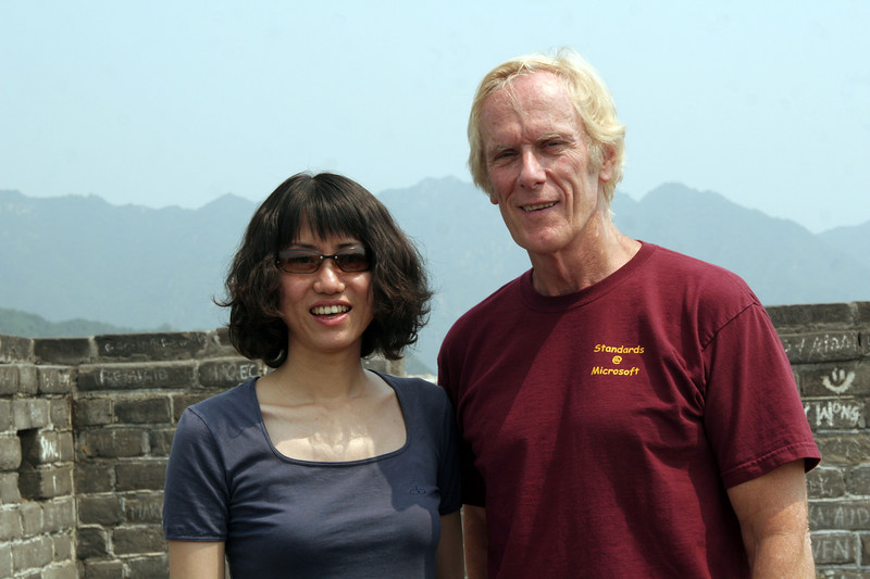 Our guide, Peggy and Roger (aka Alan).