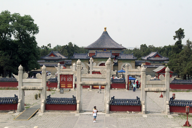 At the Temple of Heaven complex