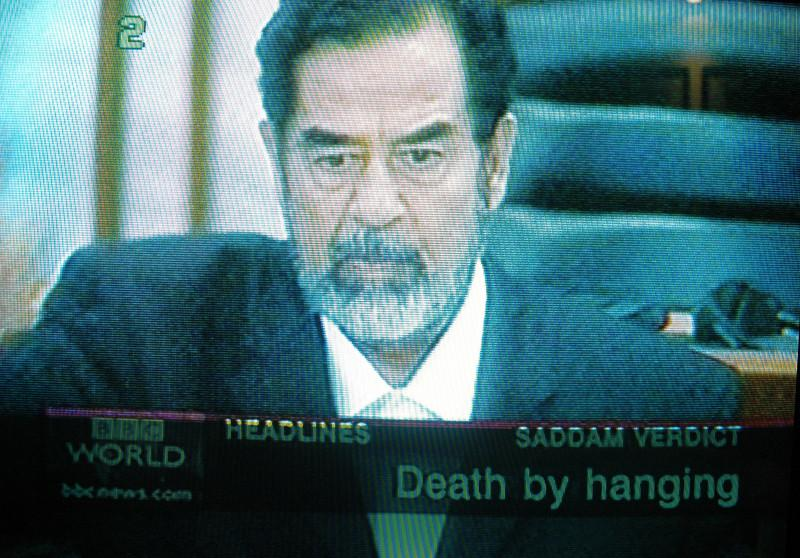 Saddam's fate is announced...