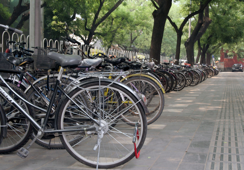 As you may have heard, bicycles are VERY popular in Beijing.