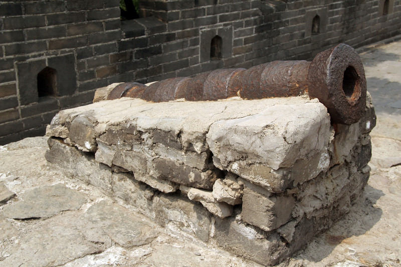 That's one seriously old cannon.