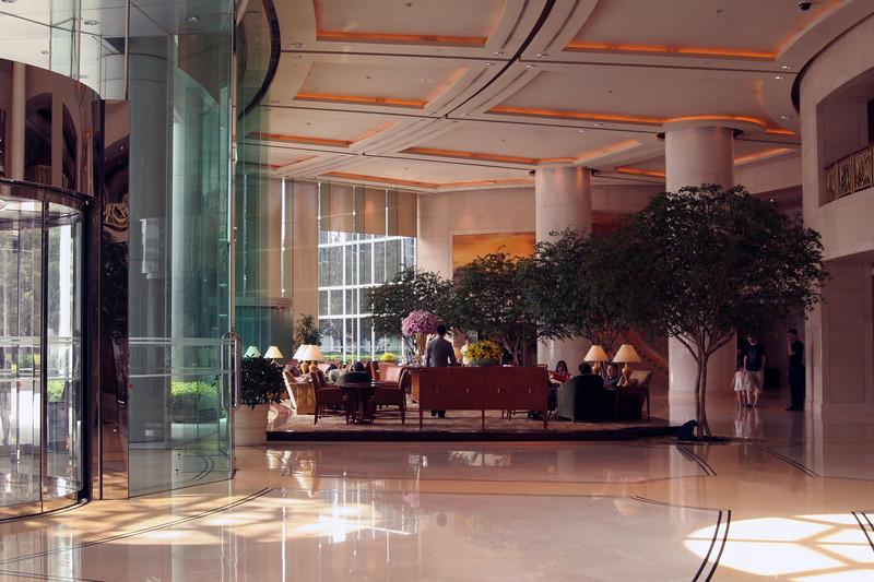 My hotel lobby.