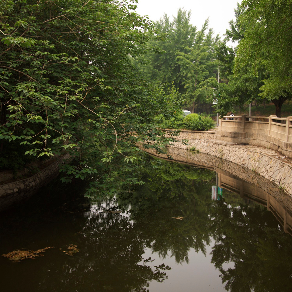 the beautiful tsinghua university campus was once an imperial garden