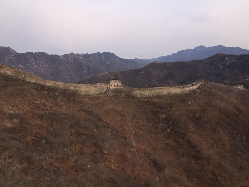 Mutianyu Great Wall from the cable car