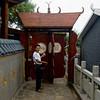Ancient Chinese revolving door