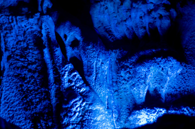 Stalactites in the Reed Flute Cave in Guilin