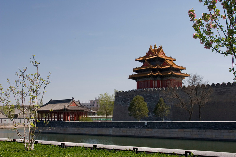 NE Corner of Forbidden City