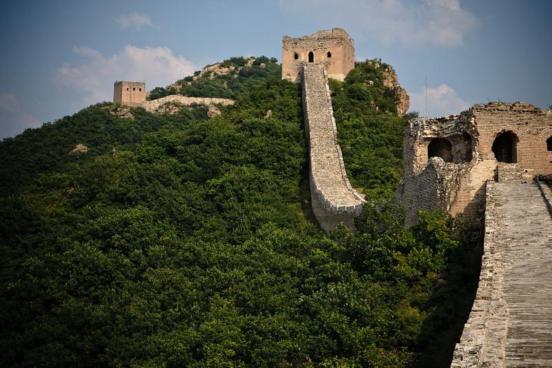 great wall of china at simatai