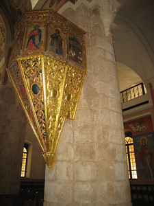 Interior of St George's Church in Beirut.