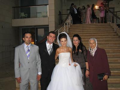 We went to Beirut to attend the wedding of Haroun and his beautiful bride Kawthar.  It was a wonderful occasion - Elf mabrouk.