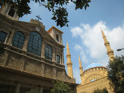 Church and mosque side by side