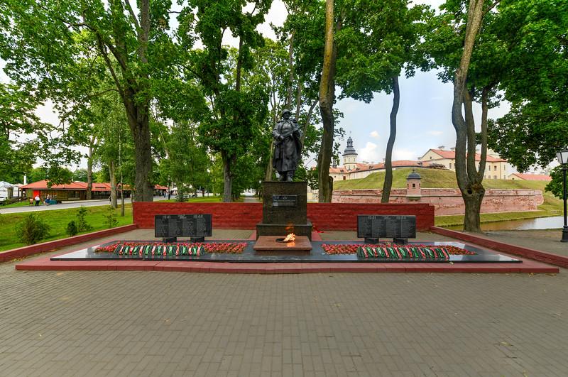WWII Memorial - Nesvizh, Belarus