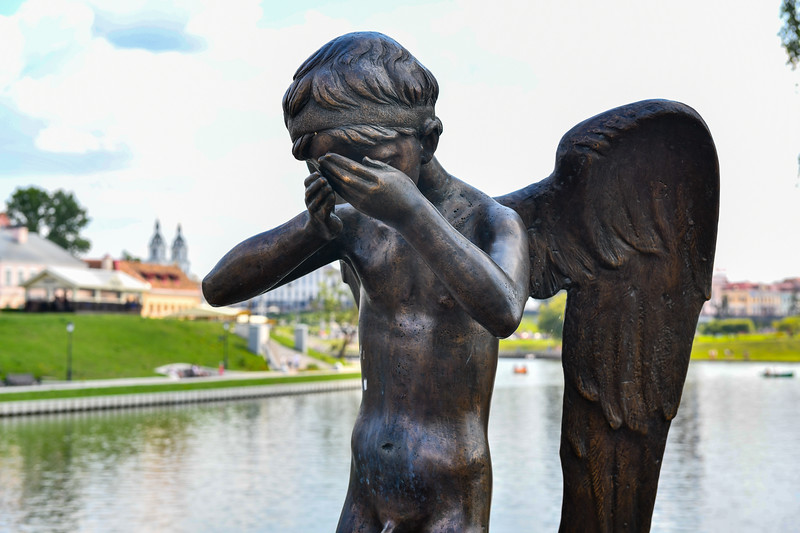 Crying Guardian Angel - Minsk, Belarus