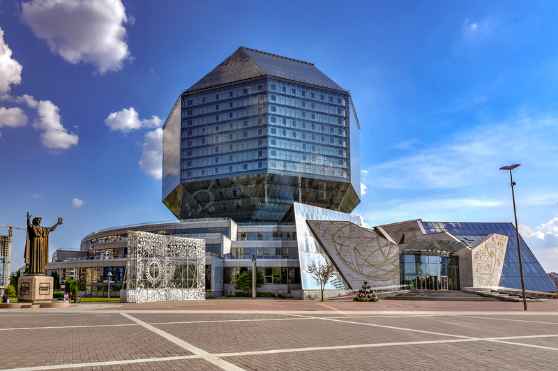 National Library of Belarus - Minsk, Belarus