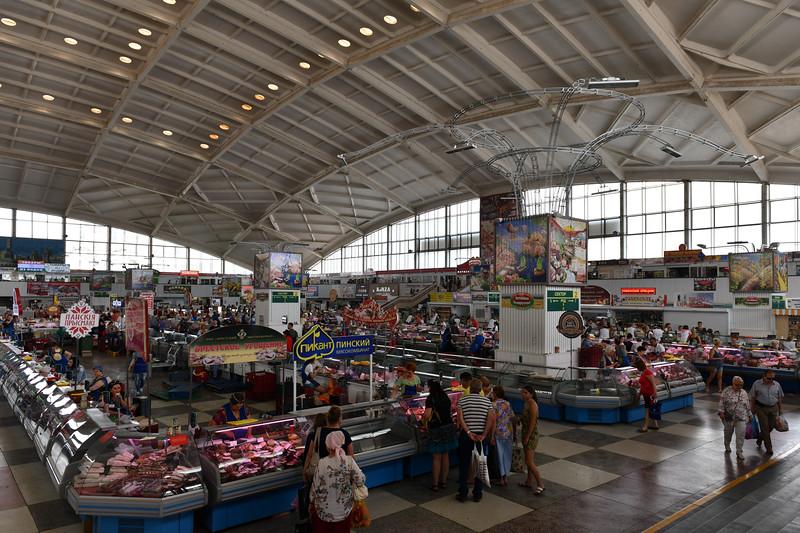 Komarovsky Market - Minsk, Belarus
