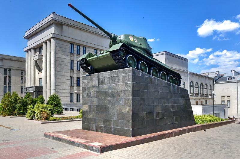 Soviet T-34/85 - Minsk, Belarus