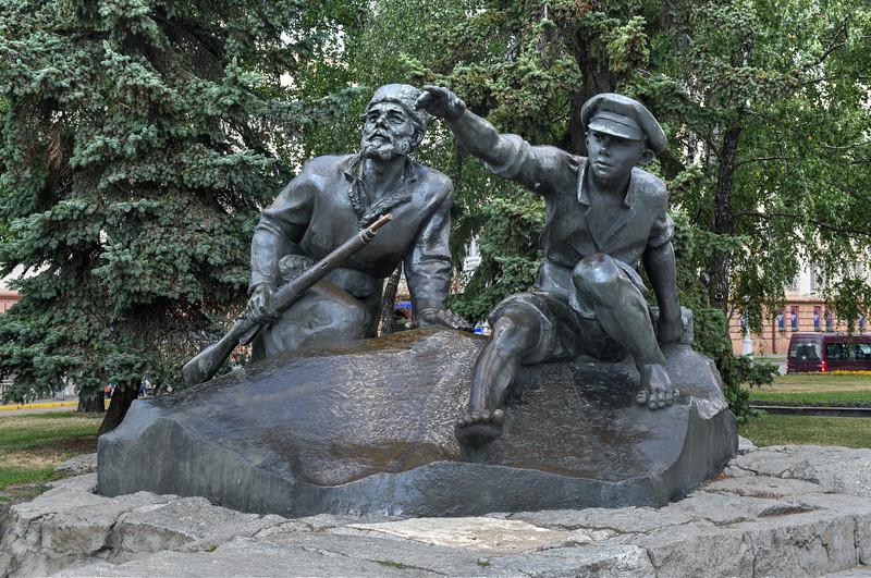 Yakuba Kolasa Square - Minsk, Belarus