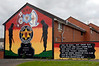 Mural, Hopewell Avenue, Belfast, 7 May 2009 1.  As elsewhere the housing has been rebuilt.