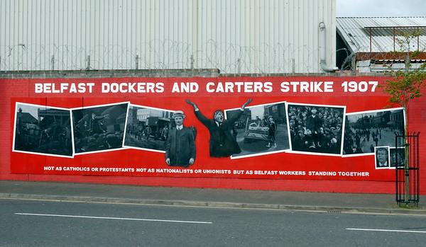 Mural, Falls Road, Belfast, 7 May 2009 1