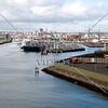 Shipping port in Belfast, Northern Ireland