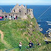 Dunluce castle in Northern Ireland.