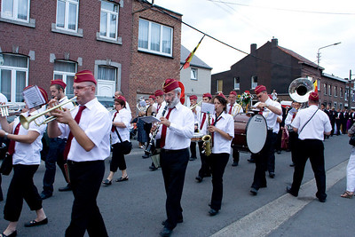 Herrmalle.The red band in motion.