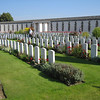 Bruges / Yypres - some of the many graves in the Tyne-Cot Commonwealth Cemetery.