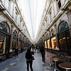 Brussels - this is one part of the Galeries Royales Saint-Hubert, which is a covered shopping area.  This is similar in design to the Galleria Vittorio Emmanuele in Milan.