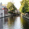 Bruges - some of the beautiful canals in the area near my Hotel.