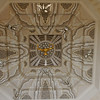 Bruges / Ypres - this is the ornate ceiling in the Memorial building shown in the previous photograph.