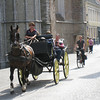 Bruges - one of the many horse carts that provided tours of the city.