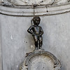Brussels - the famous statue of Mannekin Pis.  Unfortunately, he wasn't wearing one of his unique costumes during the time I was in the city.  There's also a female version, but I wasn't able to get any photos of that on this trip.
