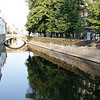 Bruges - an early morning view of some of the Canals in the area near my Hotel.