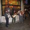 Brussels - a local band that was playing in the area near the Aux Armes des Bruxelles restaurant mentioned in a previous photo.